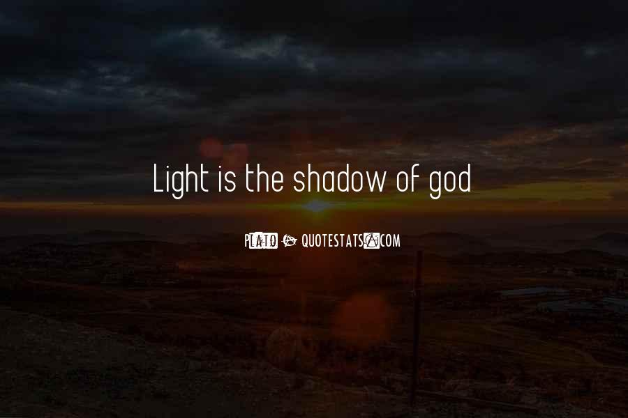 Shadow Sun Quotes #1610935