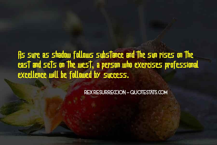 Shadow Sun Quotes #1635302