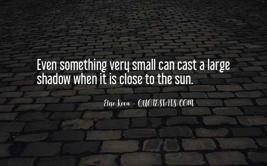 Shadow Sun Quotes #167127
