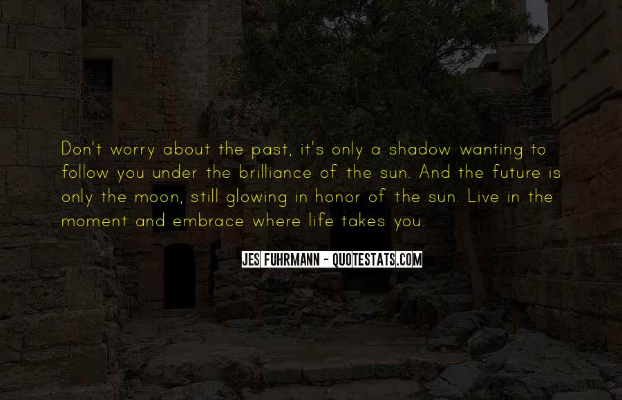 Shadow Sun Quotes #480864