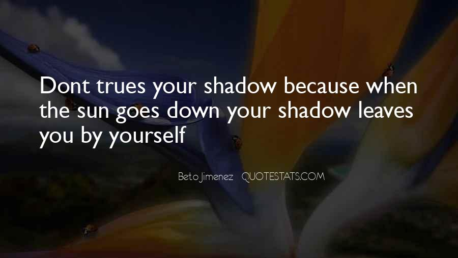 Shadow Sun Quotes #646395
