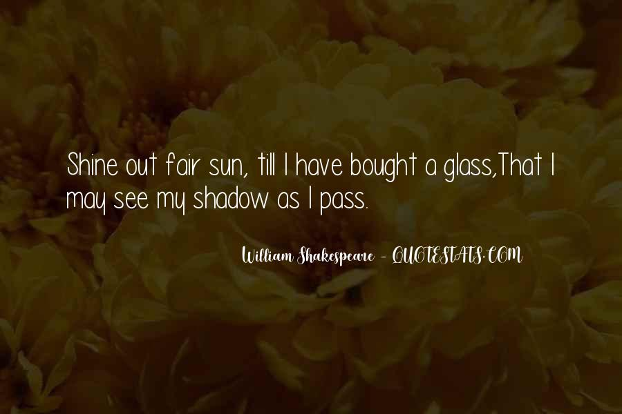 Shadow Sun Quotes #692297