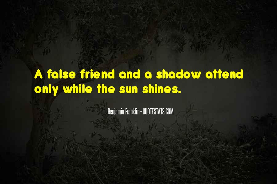 Shadow Sun Quotes #697146