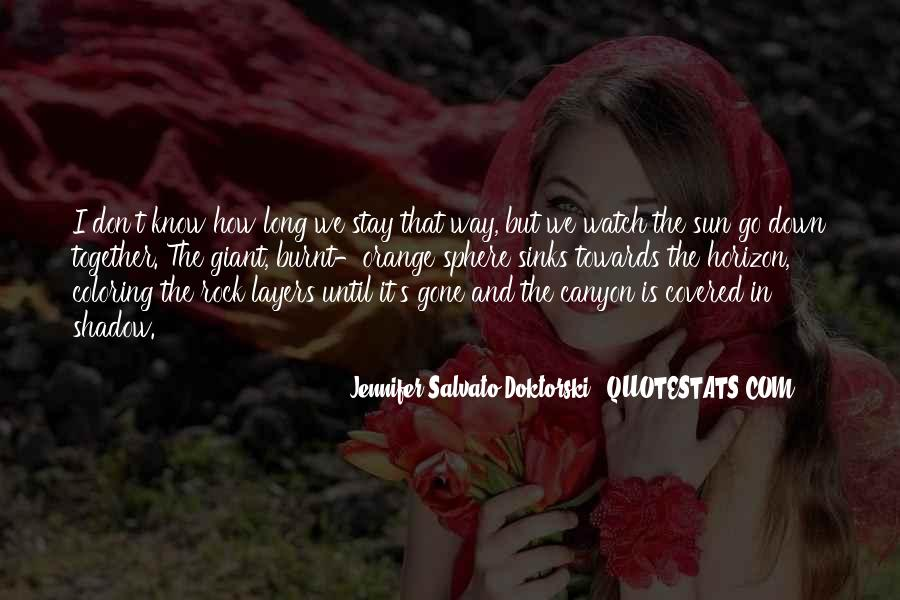 Shadow Sun Quotes #820413