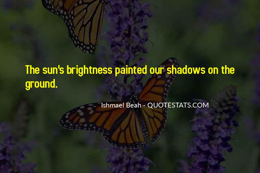 Shadow Sun Quotes #91902
