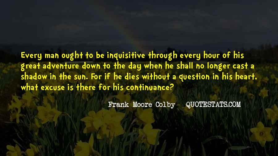 Shadow Sun Quotes #970408