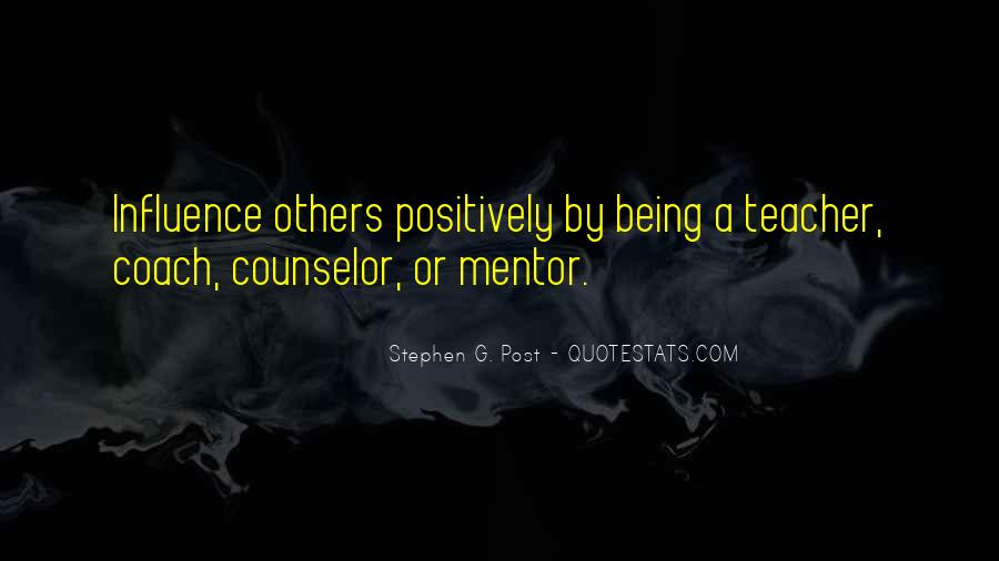 Quotes About Being A Counselor #946567
