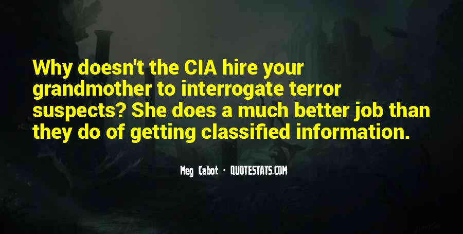 Quotes About Classified #254006