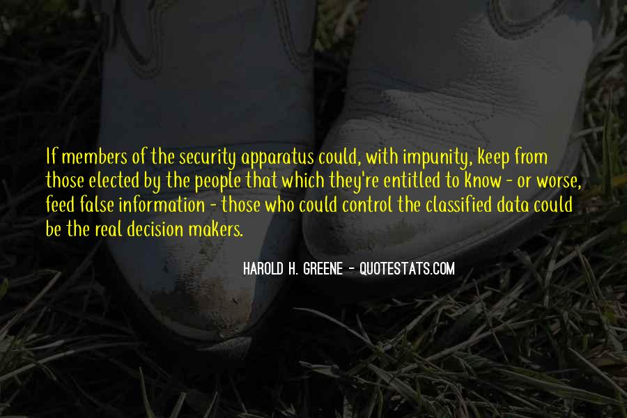 Quotes About Classified #670550