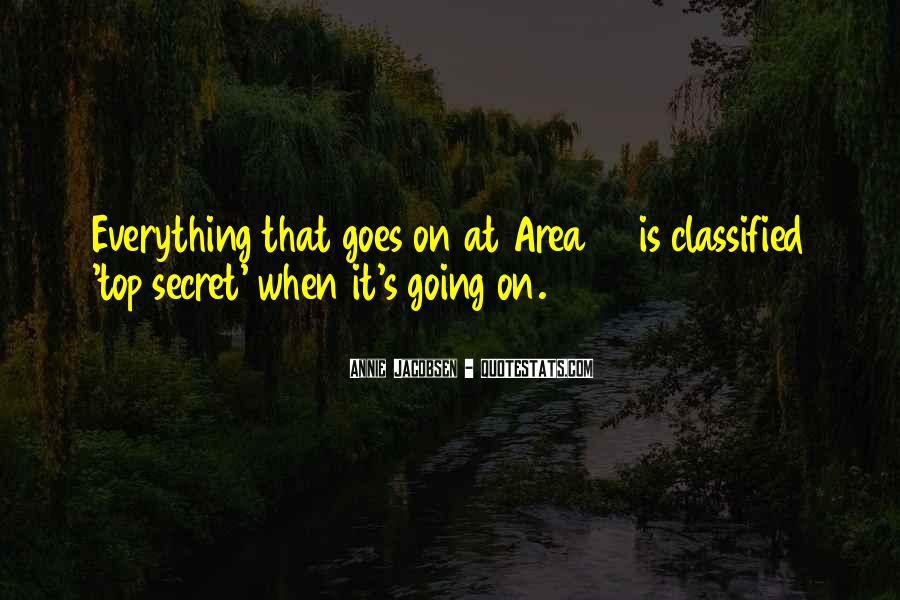 Quotes About Classified #78658