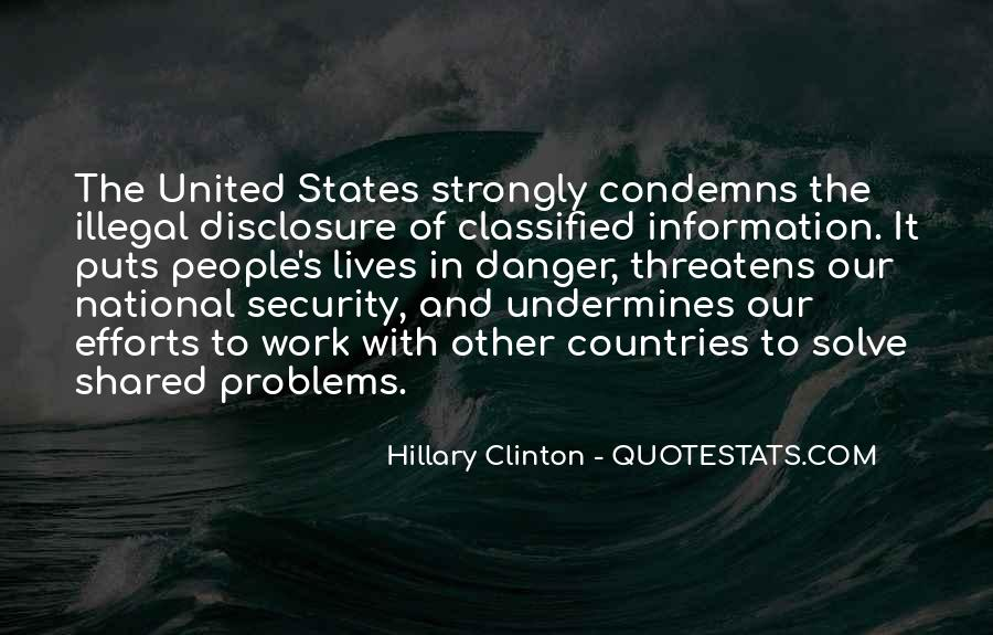 Quotes About Classified #879925