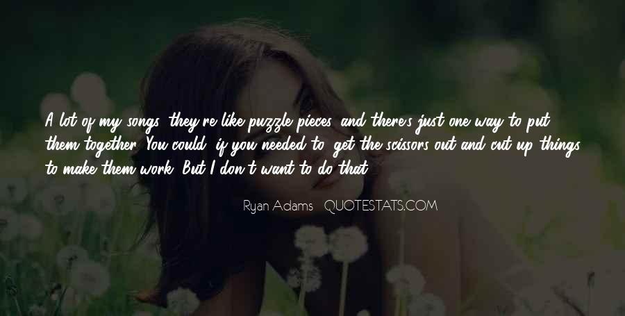 Quotes About Ryan Adams #1345065