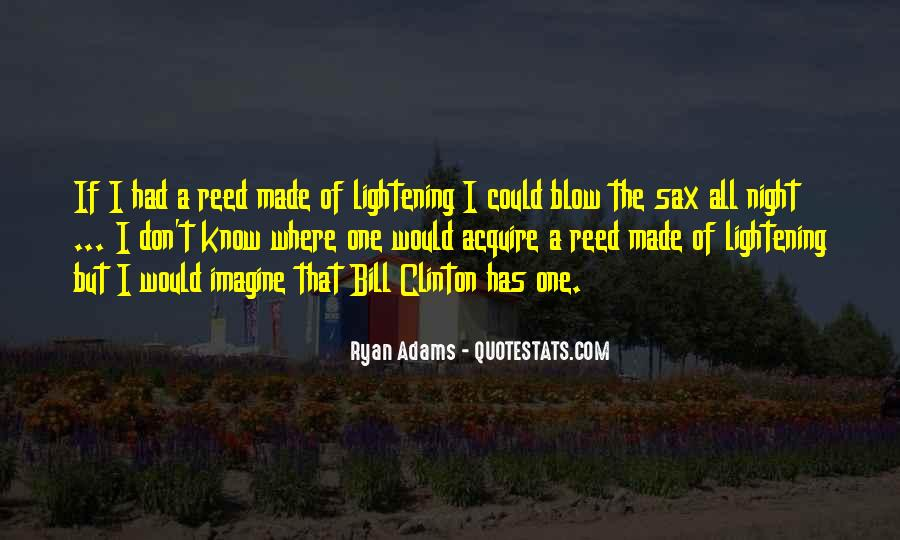 Quotes About Ryan Adams #1431938