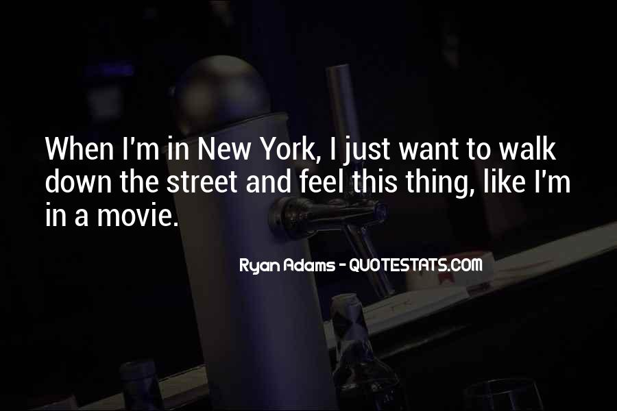 Quotes About Ryan Adams #1466495