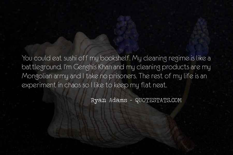 Quotes About Ryan Adams #1474741