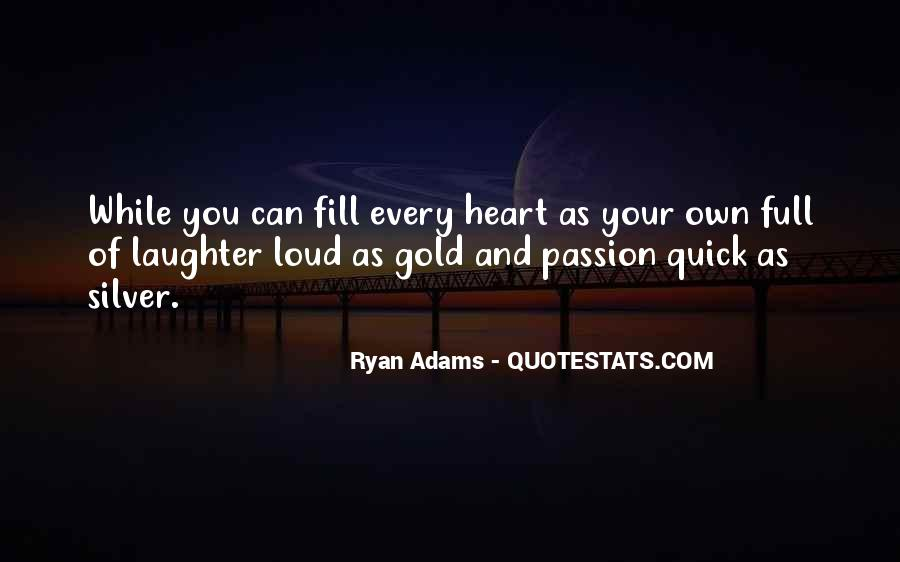 Quotes About Ryan Adams #1503231