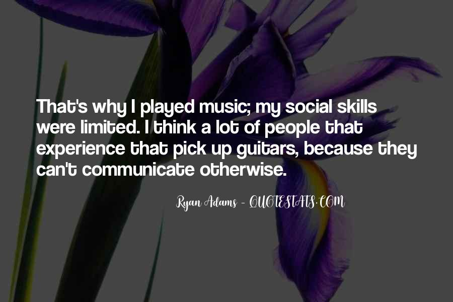 Quotes About Ryan Adams #201511
