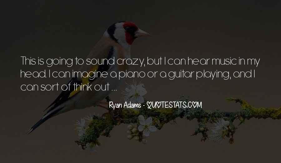 Quotes About Ryan Adams #216955