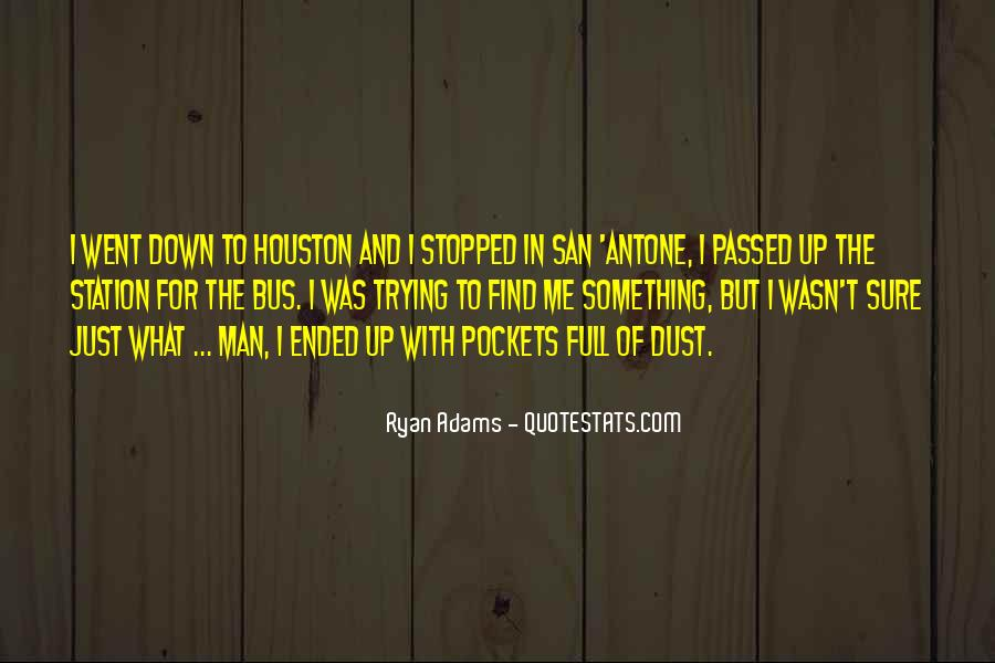 Quotes About Ryan Adams #21776