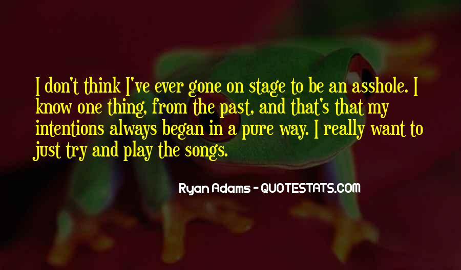 Quotes About Ryan Adams #655074