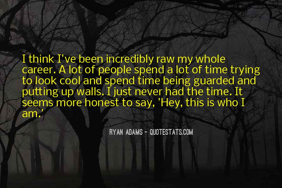 Quotes About Ryan Adams #969274