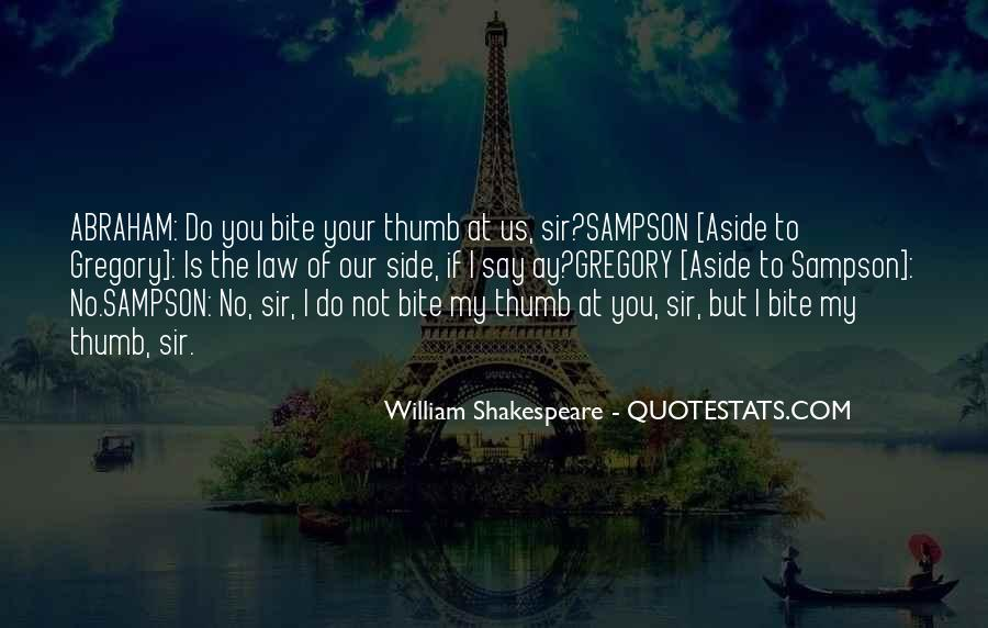 Shakespeare Aside Quotes #367866