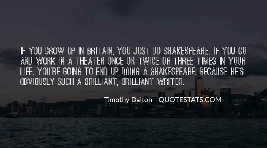 Shakespeare Britain Quotes #1219417