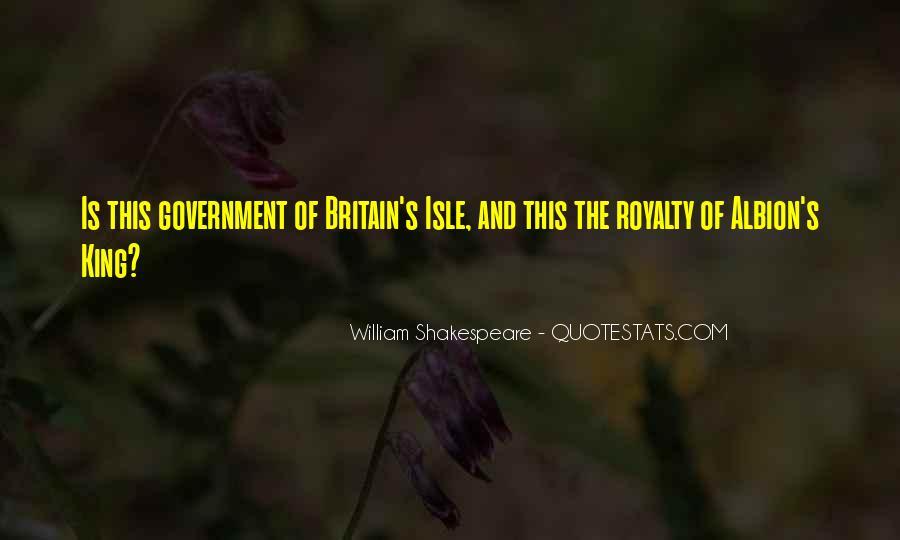 Shakespeare Britain Quotes #1373712