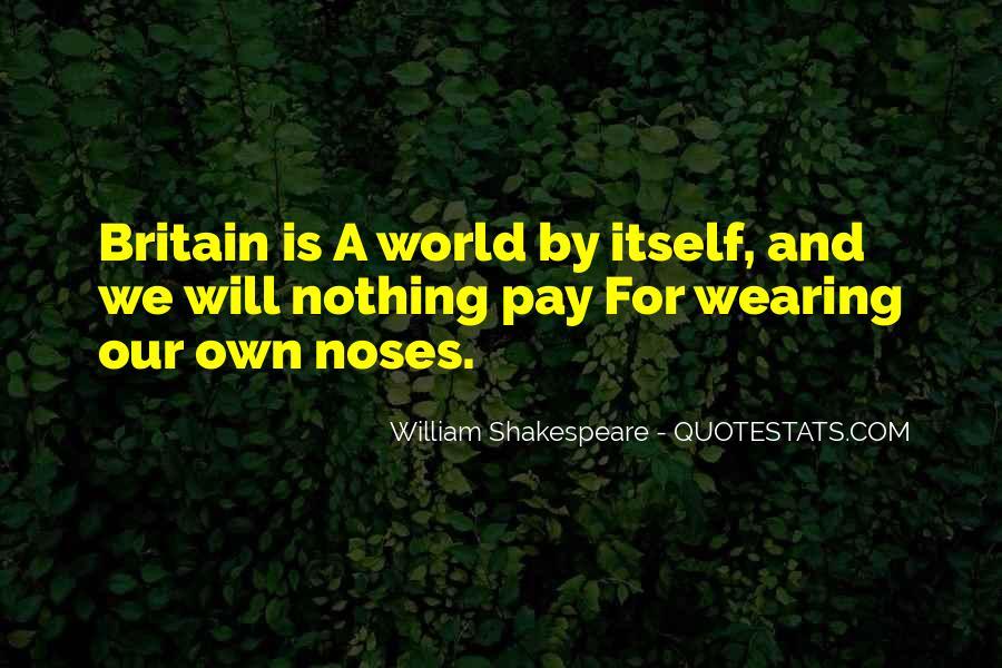 Shakespeare Britain Quotes #869544