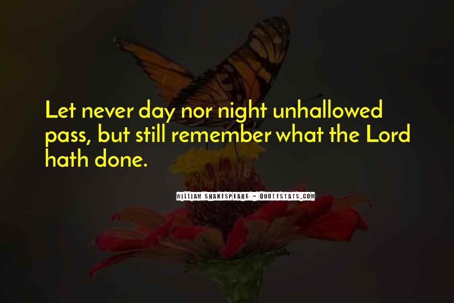 Shakespeare Day And Night Quotes #1134909
