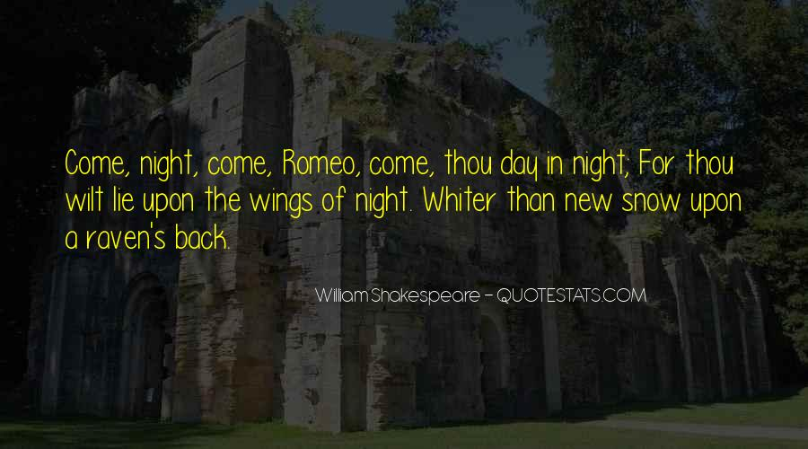 Shakespeare Day And Night Quotes #1294289