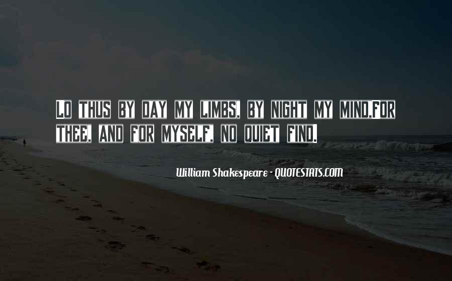 Shakespeare Day And Night Quotes #660172