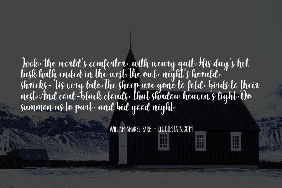 Shakespeare Day And Night Quotes #957556