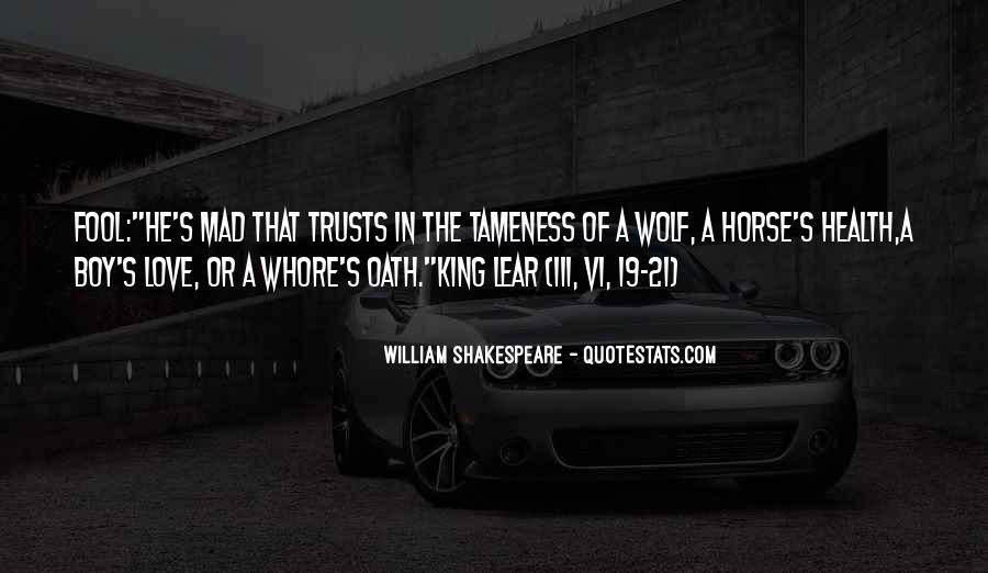 Shakespeare Fool Love Quotes #1111958