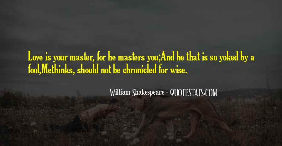 Shakespeare Fool Love Quotes #303281