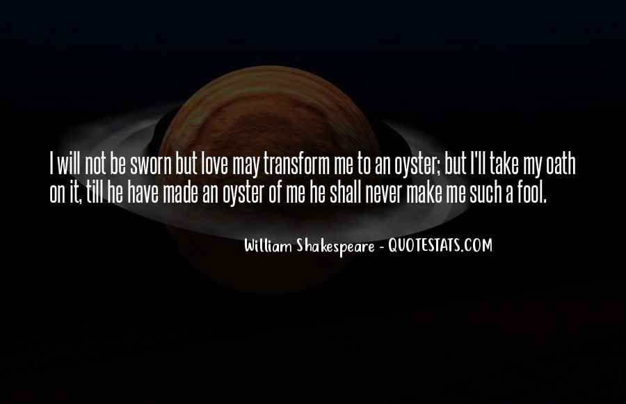 Shakespeare Fool Love Quotes #405258