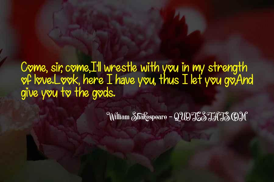 Shakespeare I Love You Quotes #1092310