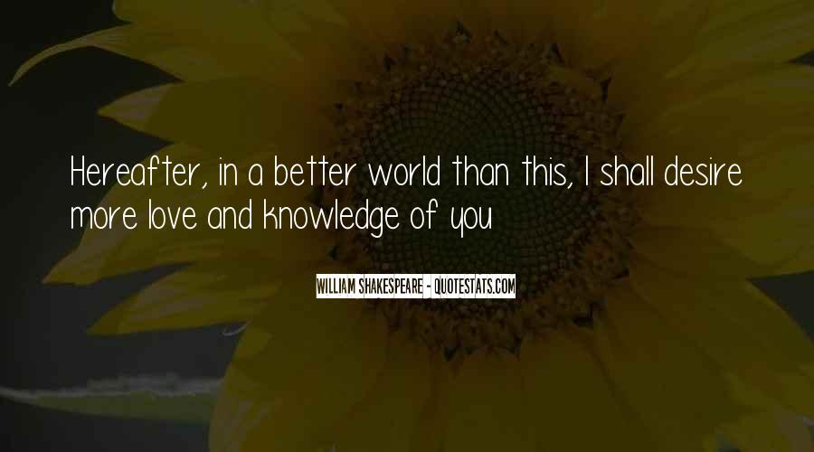 Shakespeare I Love You Quotes #1189115