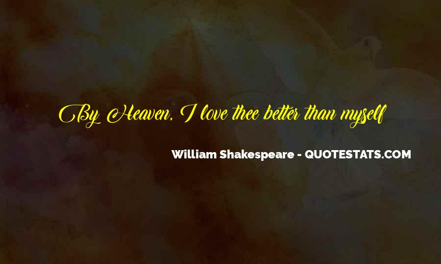 Shakespeare I Love You Quotes #1284450