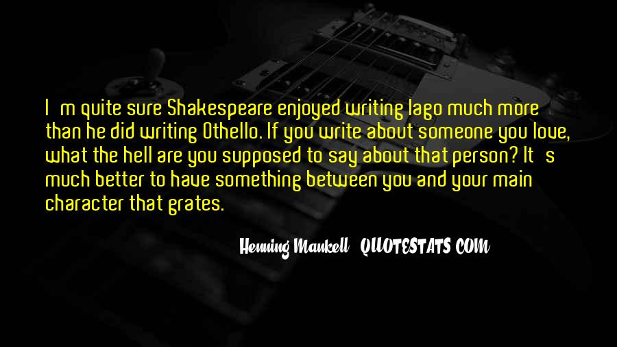 Shakespeare I Love You Quotes #1659844