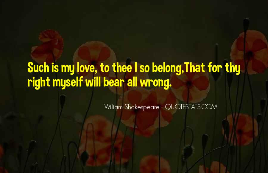 Shakespeare I Love You Quotes #1824572