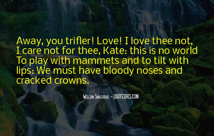 Shakespeare I Love You Quotes #183054