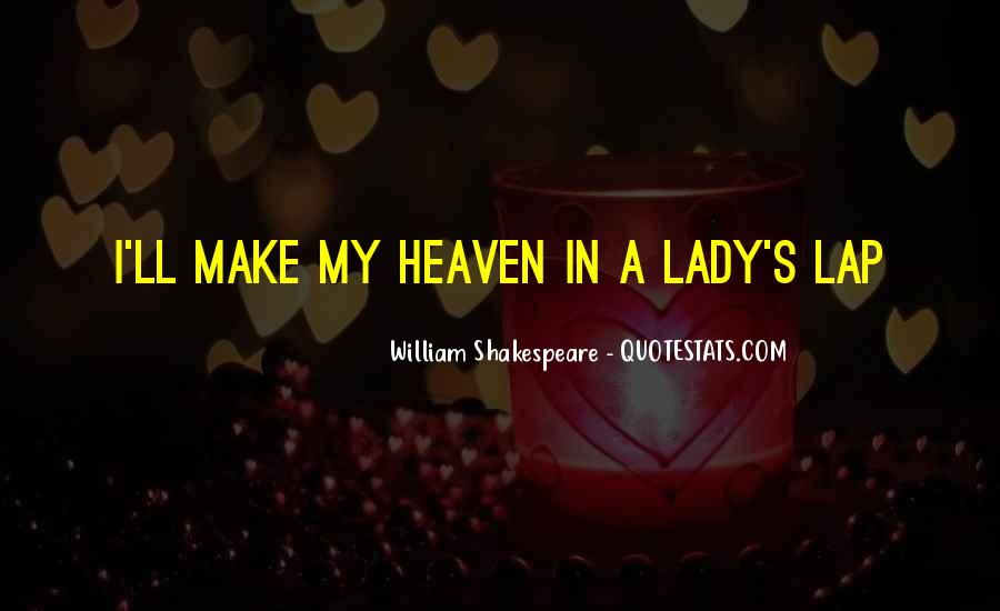 Shakespeare I Love You Quotes #1834436