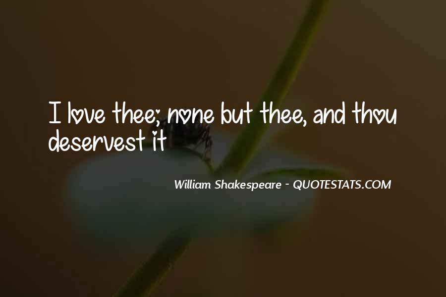 Shakespeare I Love You Quotes #536301