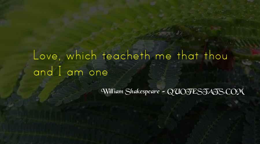 Shakespeare I Love You Quotes #540778