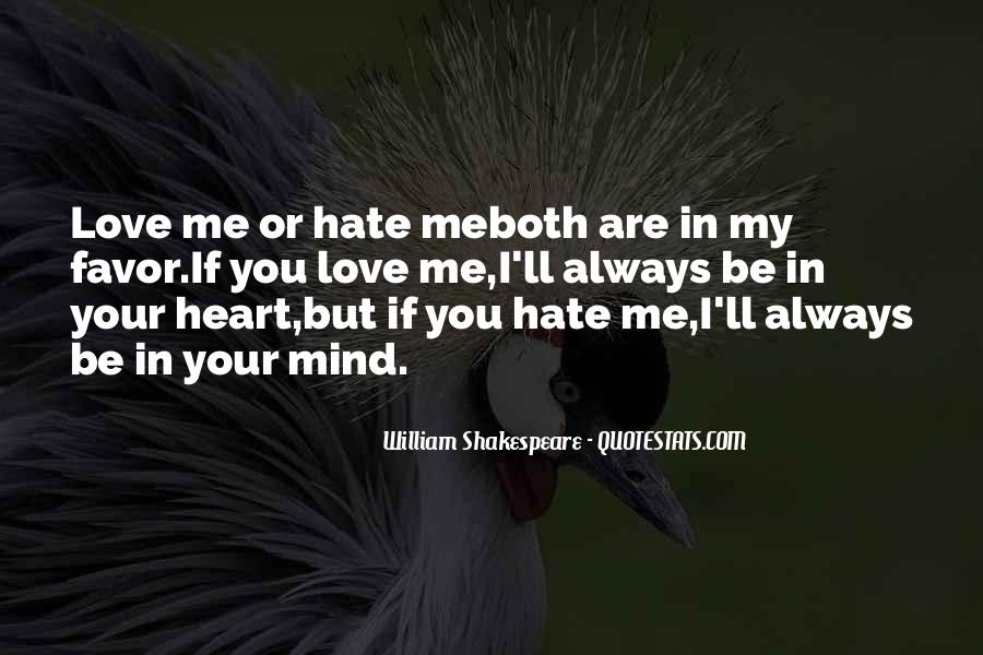 Shakespeare I Love You Quotes #585007