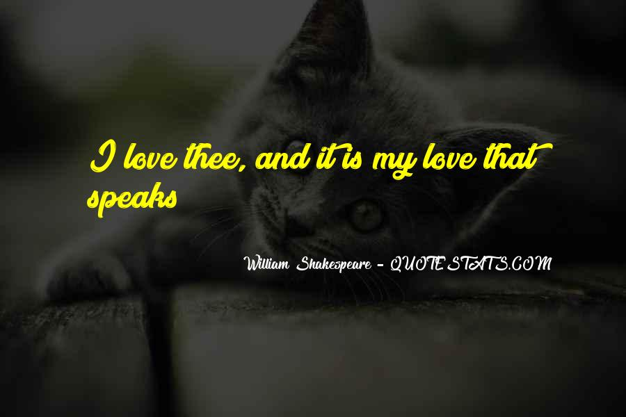 Shakespeare I Love You Quotes #613736