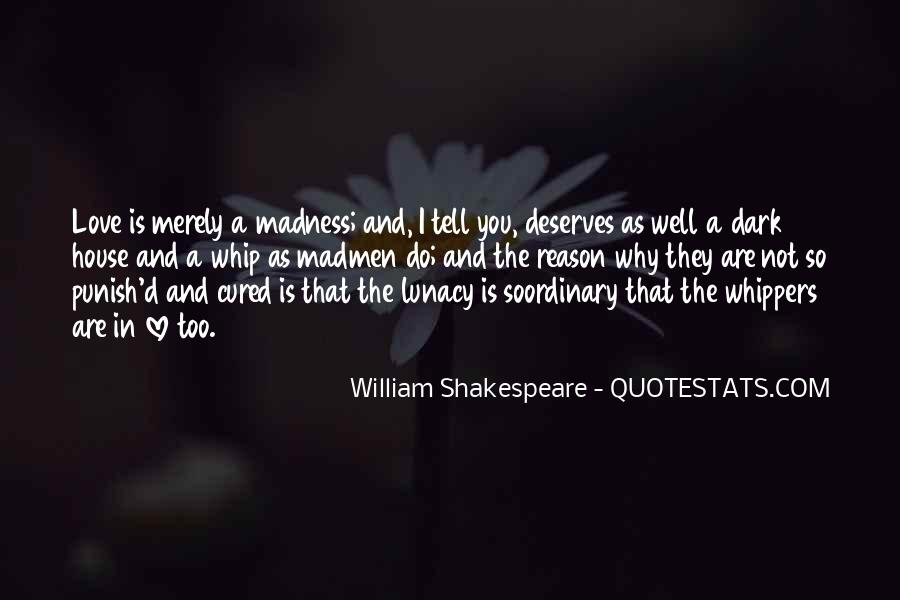 Shakespeare I Love You Quotes #709521