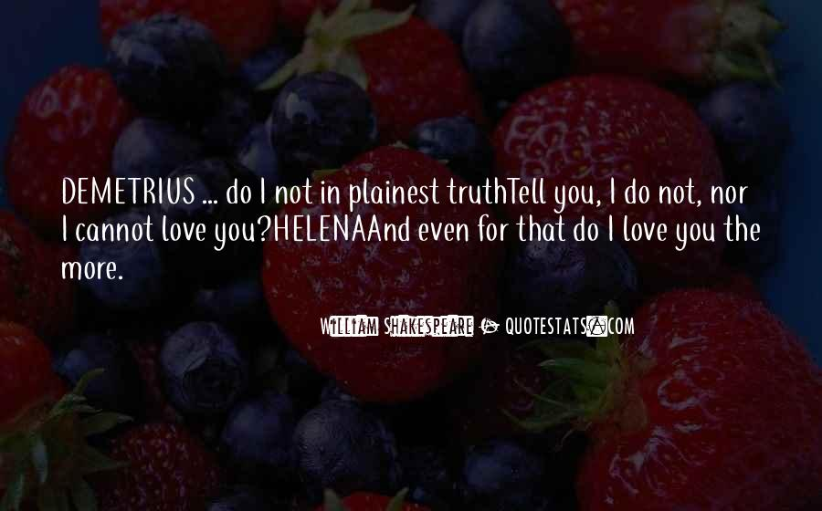 Shakespeare I Love You Quotes #932067