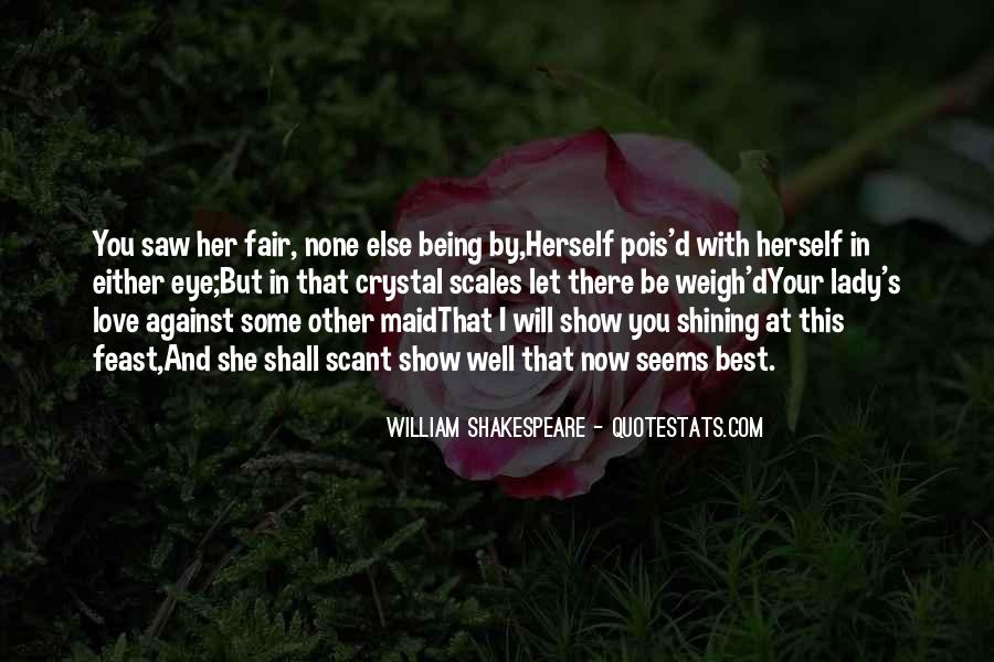 Shakespeare I Love You Quotes #956729